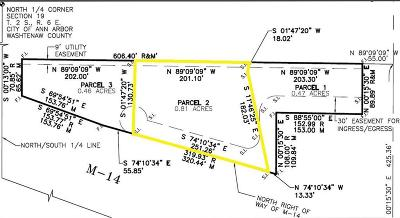 Ann Arbor Residential Lots & Land For Sale: 1863 Newport Road