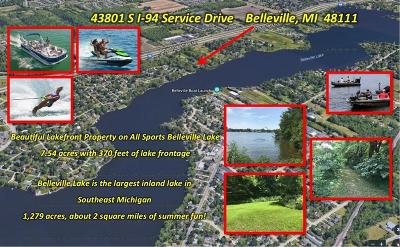 Belleville, Belleville-vanbure, Van Buren, Van Buren Twp Residential Lots & Land For Sale: 43801 S Interstate 94 Service Drive