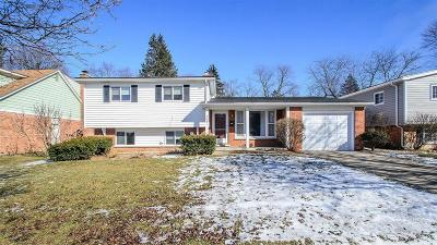 Ann Arbor, Ann Arbor (c), Ann Arbor Twp, Ann Arbpr Single Family Home Contingent - Continue To Show: 2631 Lillian Road
