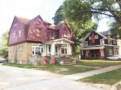 Ypsilanti Multi Family Home For Sale: 128 N Normal Street