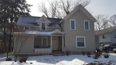 Ypsilanti Multi Family Home For Sale: 1017 N Washtenaw Road