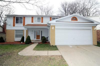 Canton, Canton Twp Single Family Home For Sale: 7451 Admiralty Drive
