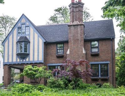 Ann Arbor Single Family Home For Sale: 2023 Seneca Avenue