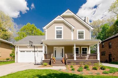 Ann Arbor Single Family Home For Sale: 330 Glenwood Street