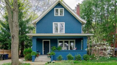 Ann Arbor Single Family Home Contingent - Continue To Show: 502 Crest Avenue