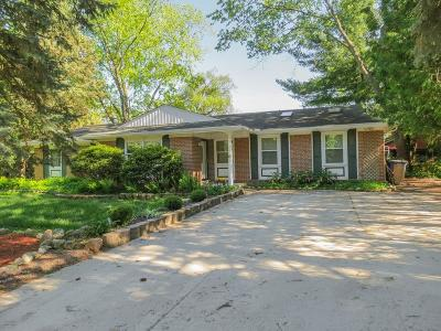 Ann Arbor Single Family Home For Sale: 3465 Charing Cross Road