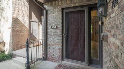 Ann Arbor Condo/Townhouse For Sale: 754 Greenhills Drive