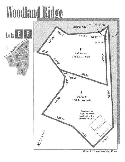 Ann Arbor Residential Lots & Land For Sale: 2843 Skyline Way