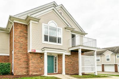 Northville Condo/Townhouse For Sale: 16820 Dover Drive #109