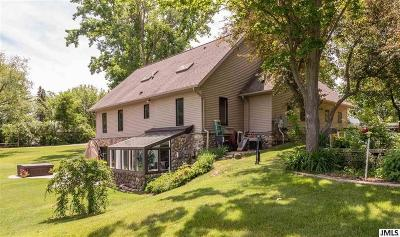 Hillsdale County Single Family Home For Sale: 11253 Almon Pt