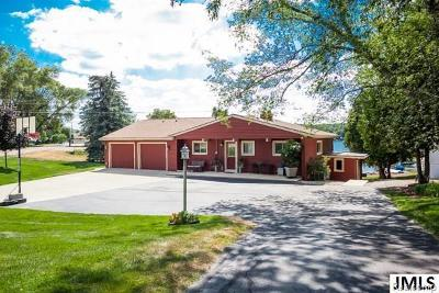 Hillsdale County Single Family Home Contingent - Continue To Show: 11861 S Lakeside Dr