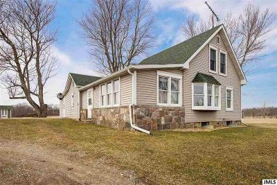 Hillsdale County Single Family Home For Sale: 9000 S Waldron Rd #9000 Wal