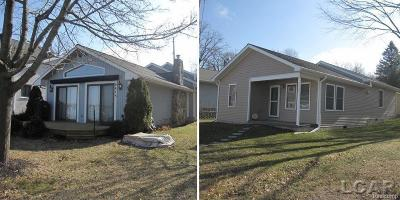 Lenawee County Single Family Home For Sale: 6475 Hallenbeck Hwy. #6124 ORC