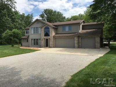 Lenawee County Single Family Home For Sale: 14534 Carroll Rd