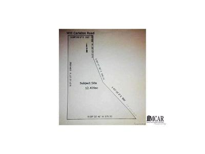 Flat Rock Residential Lots & Land For Sale: Will Carleton
