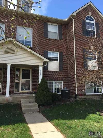 Ypsilanti Condo/Townhouse For Sale: 6325 Brant Lane