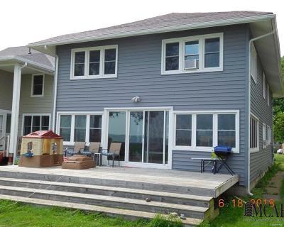 Monroe Single Family Home For Sale: 3350 Lakeshore