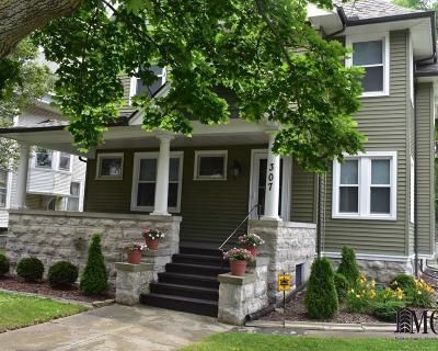 Monroe Single Family Home For Sale: 307 N Macomb St