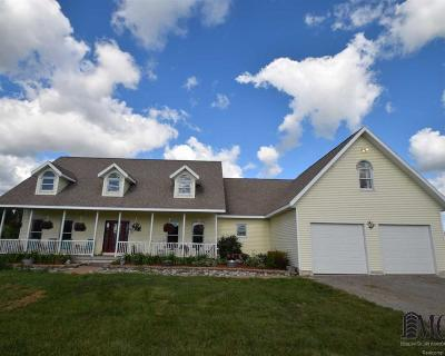 Monroe County Single Family Home Contingent - Continue To Show: 7859 Crabb Road