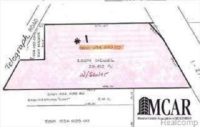 Carleton Residential Lots & Land For Sale: Telegraph