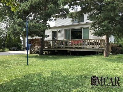 Monroe County Single Family Home For Sale: 6693 Lakeshore