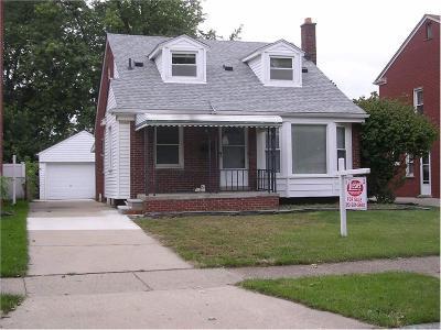 Allen Park Single Family Home For Sale: 7620 Kolb
