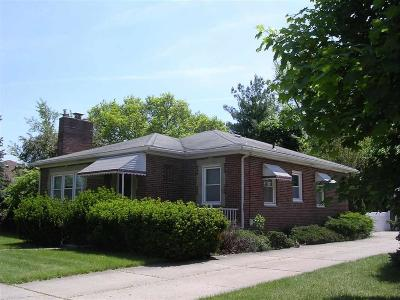 Allen Park Single Family Home For Sale: 15221 Cleveland