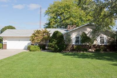 Monroe County Single Family Home Contingent - Continue To Show: 4890 E Dunbar
