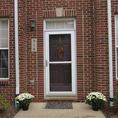 Monroe County Condo/Townhouse For Sale: 918 Osgood #55