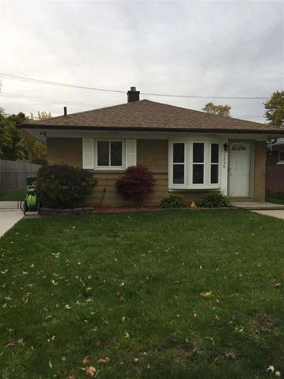 Southgate Single Family Home For Sale: 14238 Irene