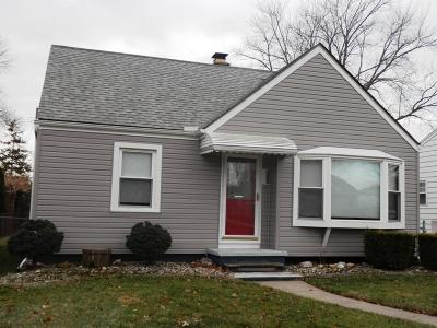 Brownstown Twp, Flat Rock, Riverview, Rockwood Single Family Home For Sale: 21745 McKinley