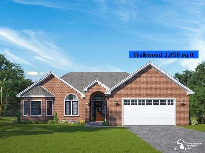 Monroe County Single Family Home For Sale: 15366 Orchard Meadows