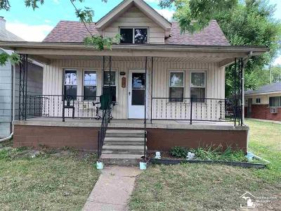 Lincoln Park Single Family Home For Sale: 1532 Hanover