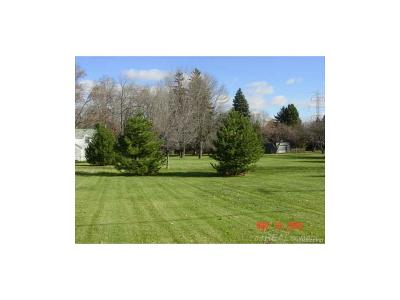 Sterling Heights Residential Lots & Land For Sale: 39400 Utica