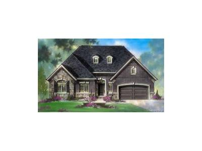 Harrison Twp Single Family Home For Sale: 39707 Whitewater #Lot 57