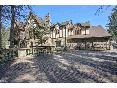 Rochester Hills Single Family Home For Sale: 1540 Mill Race