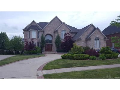 Sterling Heights Single Family Home For Sale: 2135 Meadow Reed Dr