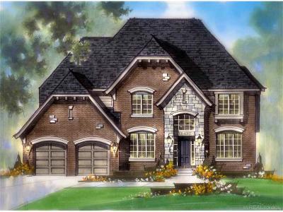 MACOMB Single Family Home For Sale: 51010 E Anita Way #LOT 18