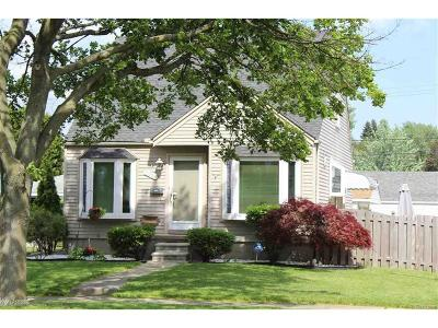 Dearborn Single Family Home For Sale: 3039 Williams Street