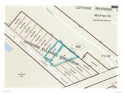 Chesterfield Twp Residential Lots & Land For Sale: 33143 Killewald