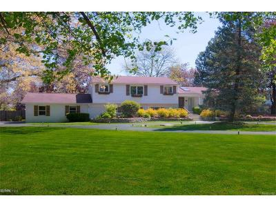 Bloomfield Hills Single Family Home For Sale: 2306 Eastways