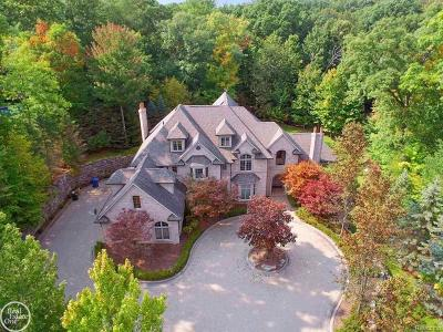 Rochester Single Family Home For Sale: 1553 Scenic Hollow