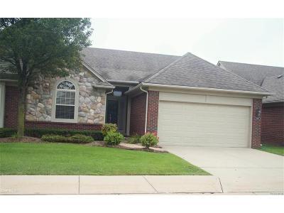 Shelby Twp Condo/Townhouse For Sale: 6914 S Lexington