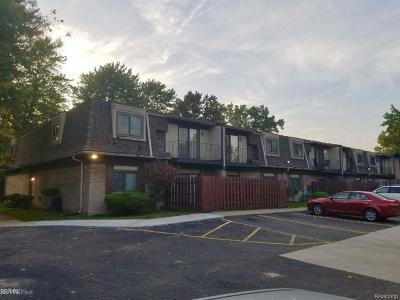 Southfield Condo/Townhouse For Sale: 15999 W 11 Mile