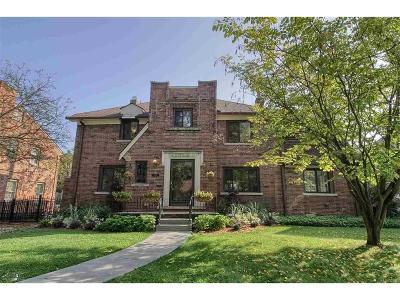 Grosse Pointe Park Single Family Home For Sale: 1170 Harvard
