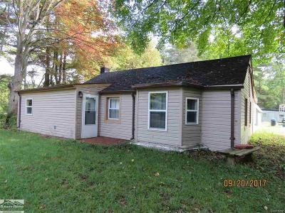 Saint Clair County, St. Clair County Single Family Home For Sale: 2682 Range