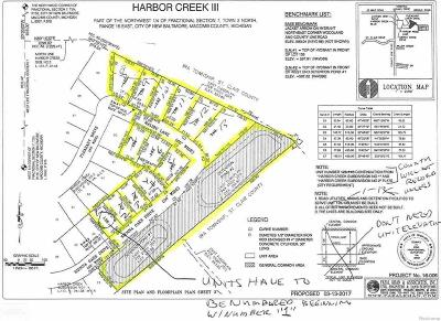 New Baltimore Residential Lots & Land For Sale: 5 Sienna Oaks Drive