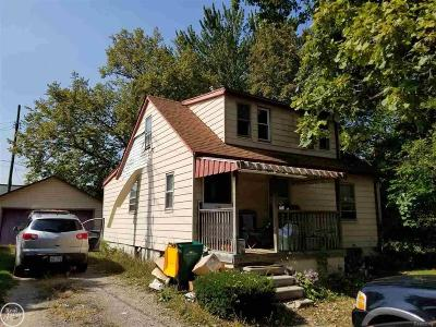 Farmington, Farmington Hills Single Family Home For Sale: 21301 Rockwell