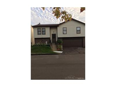 Troy Condo/Townhouse For Sale: 2846 Roundtree Dr #Unit # 1