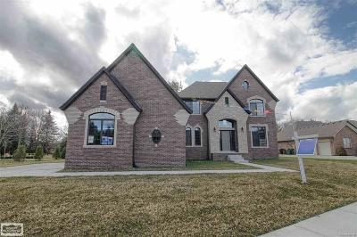 Shelby Twp Single Family Home For Sale: 54173 Preston Pines Lane